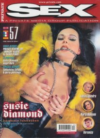 Front cover of Private Sex 57 magazine