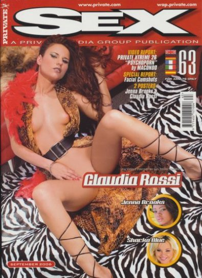 Front cover of Private Sex 63 magazine