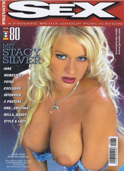Front cover of Private Sex 80 magazine