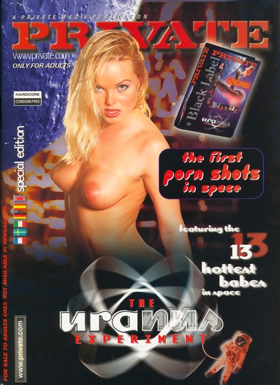 Front cover of Private Uranus Experiment magazine