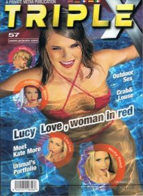 Front cover of Private Triple X 57 magazine