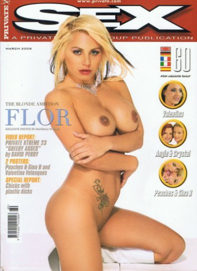 Front cover of Private Sex 60 magazine