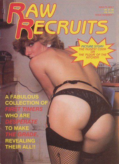 Front cover or Raw Recruits Issue 1 magazine