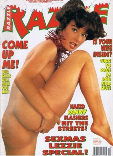 Front cover of Razzle Volume 12 No 12 magazine