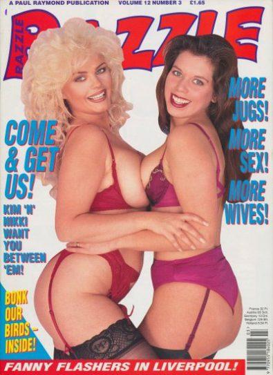 Front cover of Razzle Volume 12 No 3 magazine