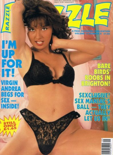 Front cover of Razzle Volume 12 No 9 magazine