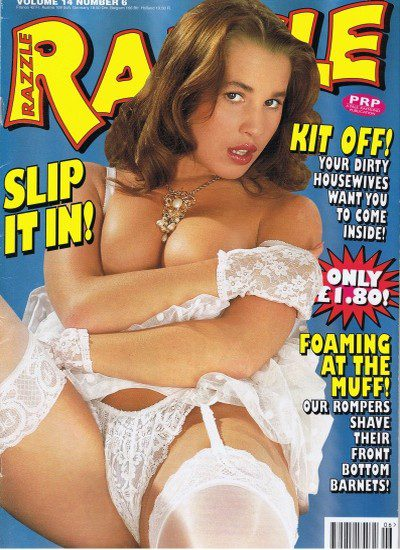Front cover of Razzle Volume 14 No 6 magazine