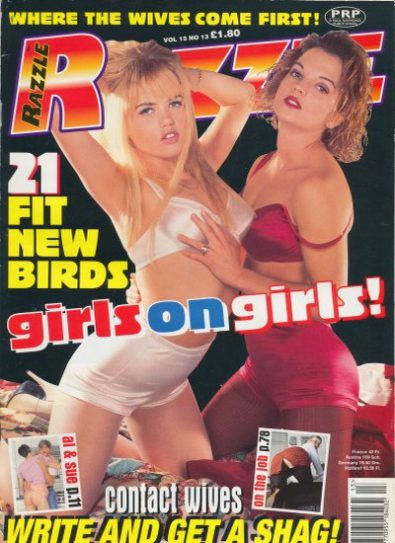 Front cover of Razzle Volume 15 No 13 magazine