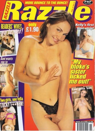 Front cover of Razzle Volume 17 No 11 magazine