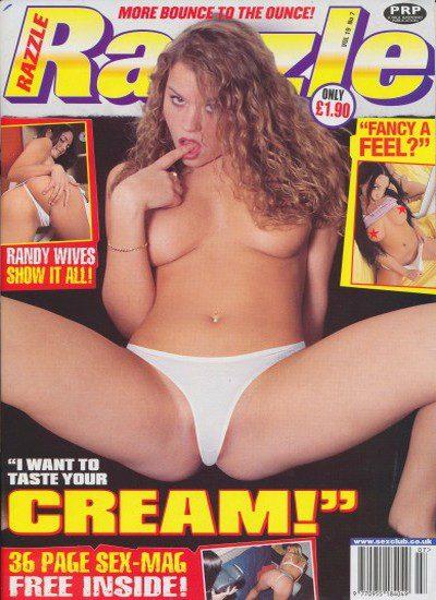 Front cover of Razzle Volume 19 No 7 magazine