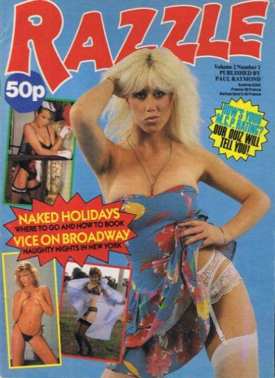 Front cover of Razzle Volume 02 No 1 magazine