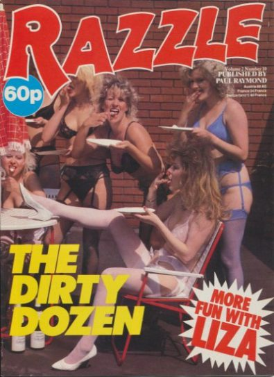 Front cover of Razzle Volume 02 No 10 magazine