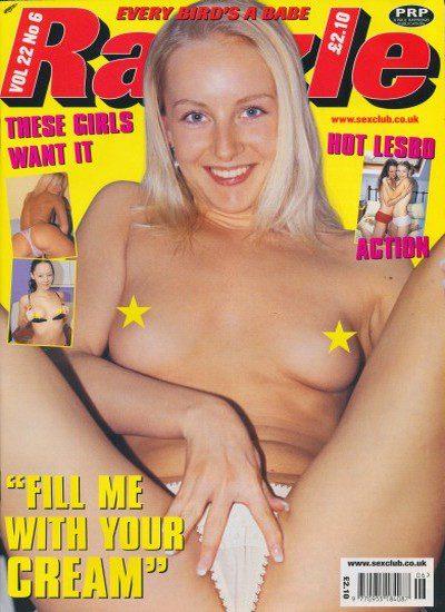 Front cover of Razzle Volume 22 No 6 magazine