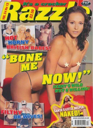 Front cover of Razzle Volume 24 No 13 magazine