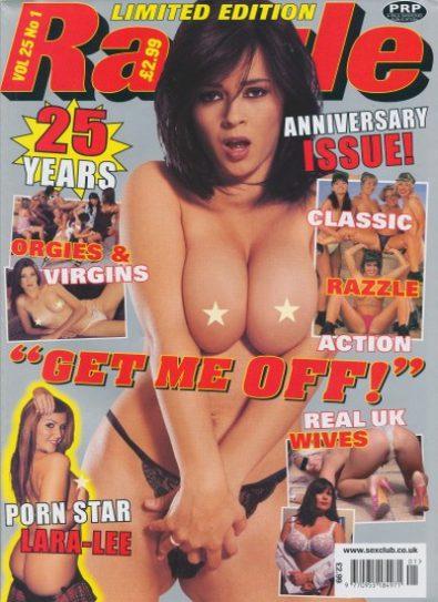 Front cover of Razzle Volume 25 No 1 magazine