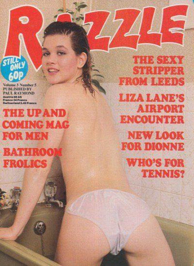 Front cover of Razzle Volume 3 No 5 magazine