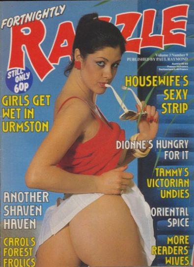 Front cover of Razzle Volume 03 No 9 magazine