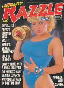 Front cover of Razzle Volume 04 No 20 magazine