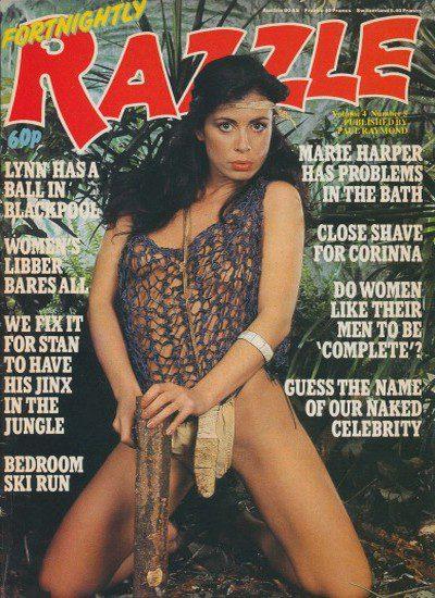 Front cover of Razzle Vol 4 No 5 magazine