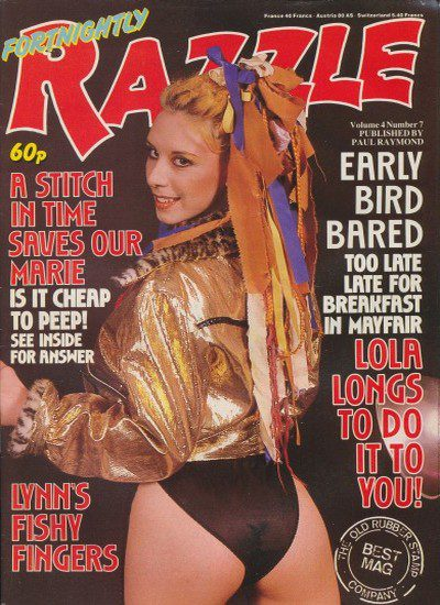 Front cover of Razzle Volume 04 No 7 magazine