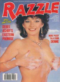 Front cover of Razzle Volume 5 No 14 magazine
