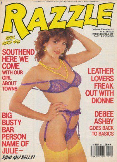 Front cover of Razzle Vol 5 No 15 magazine