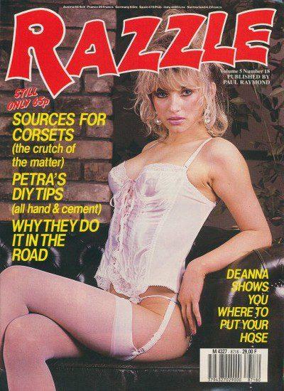Front cover of Razzle Volume 5 No 18 magazine