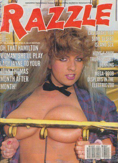 Front cover of Razzle Vol 5 No 22 magazine