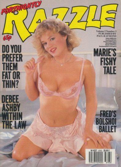 Front cover of Razzle Vol 5 No 3 magazine