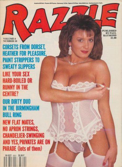 Front cover of Razzle Volume 06 No 10 magazine