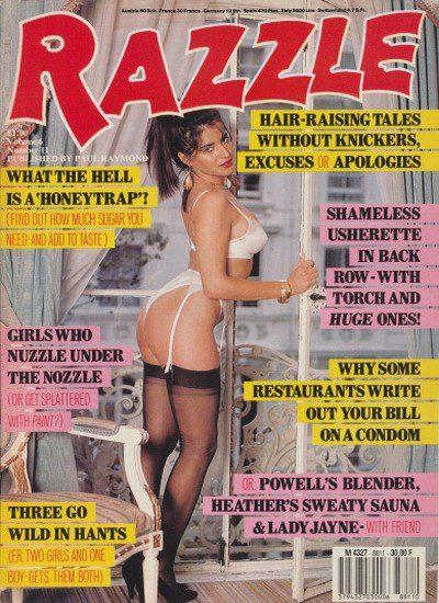 Front cover of Razzle Volume 06 No 11 magazine
