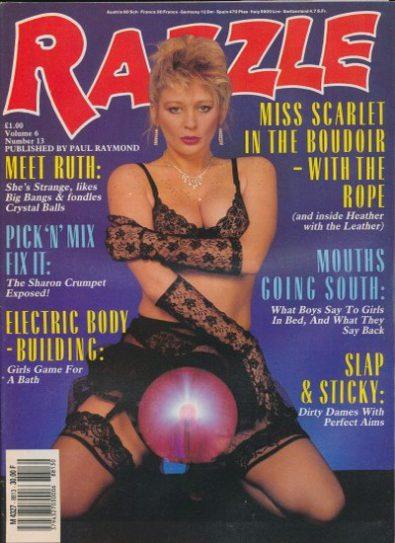 Front cover of Razzle Volume 06 No 13 magazine