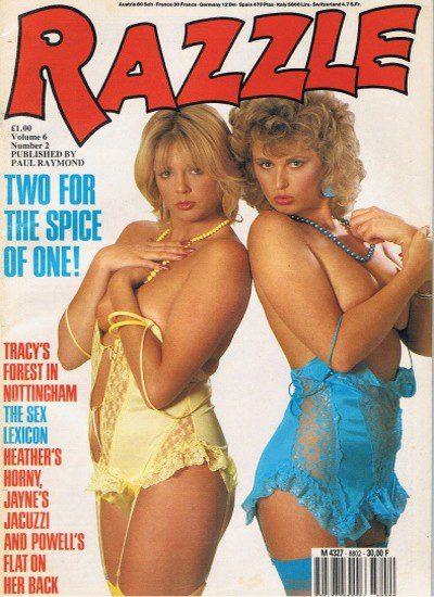 Front cover of Razzle Volume 06 No 2 magazine