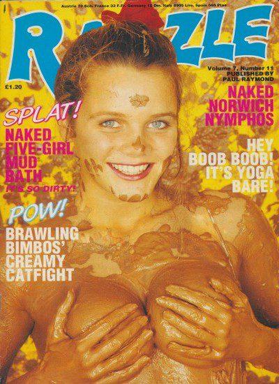 Front cover of Razzle Vol 7 No 11 magazine