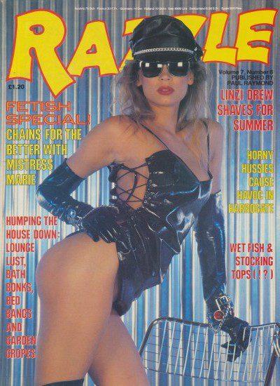 Front cover of Razzle Volume 07 No 6 magazine