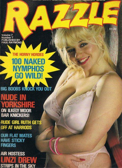 Front cover of Razzle Volume 07 No 7 magazine