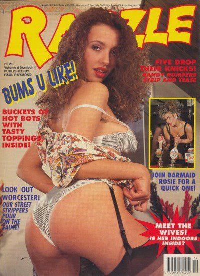 Front cover of Razzle Volume 09 No 4 magazine