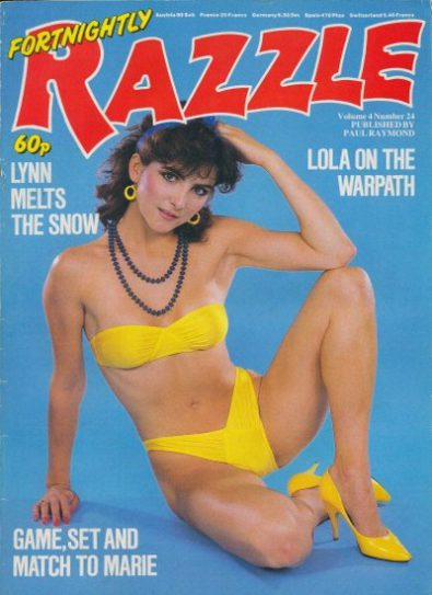 Front cover of Razzle Volume 04 No 24 magazine
