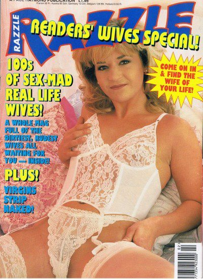 Front cover of Razzle Readers Wives Special magazine