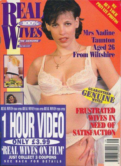 Front cover of Real Wives Volume 2 No 6 magazine