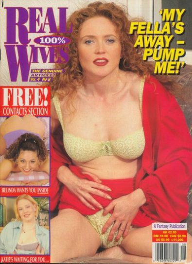 Front cover of Real Wives Volume 4 No 8 magazine