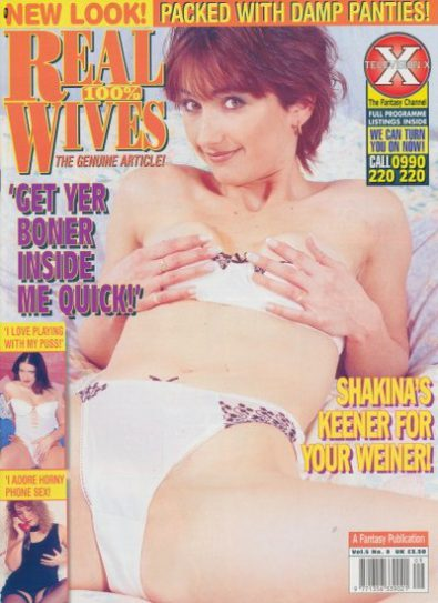 Front cover of Real Wives Volume 5 No 9 magazine