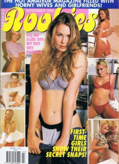 Front cover of Rookies Nov 1999 magazine