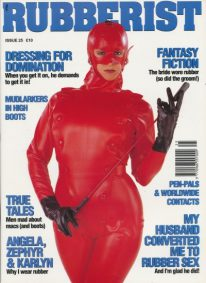 Front cover of Rubberist Issue 25 magazine