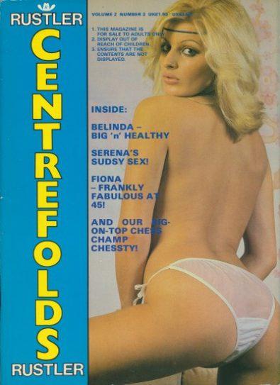 Front cover of Rustler Centrefolds Volume 2 No 3 magazine
