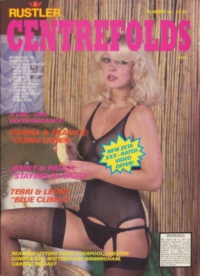 Front cover of Rustler Centrefolds No 48 magazine