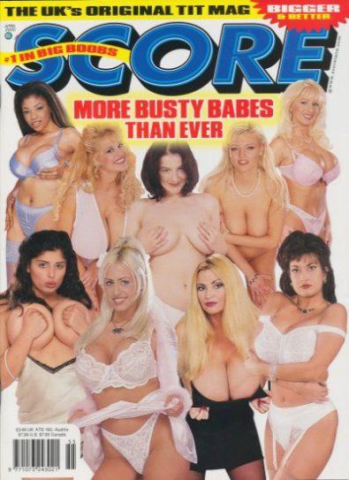 Front cover of Score April 2000 magazine