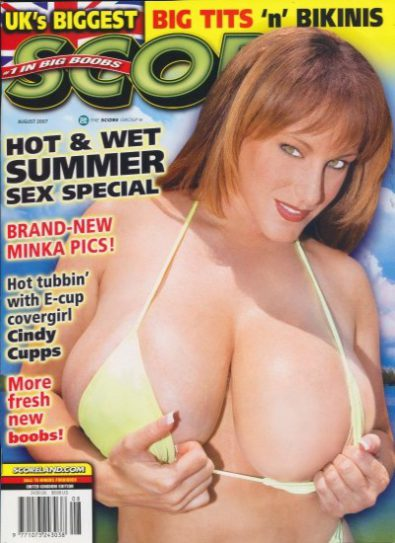 Front cover of Score August 2007 magazine