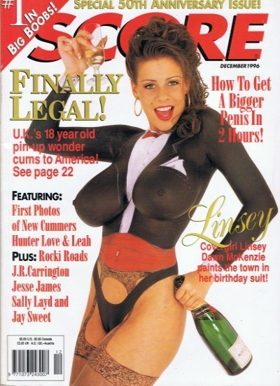 Front cover of Score December 1996 magazine