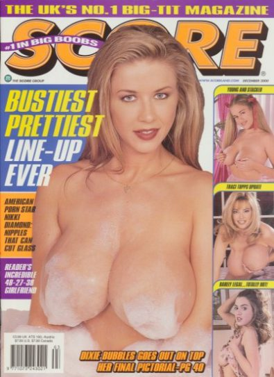Front cover of Score December 2000 magazine